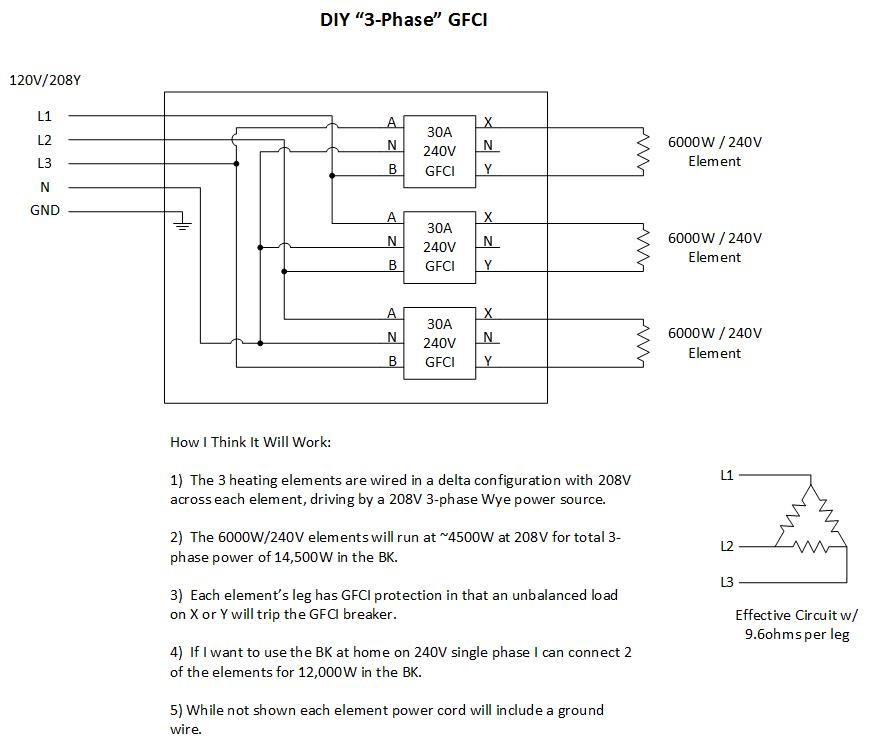 Single Phase 208v Wiring Diagram