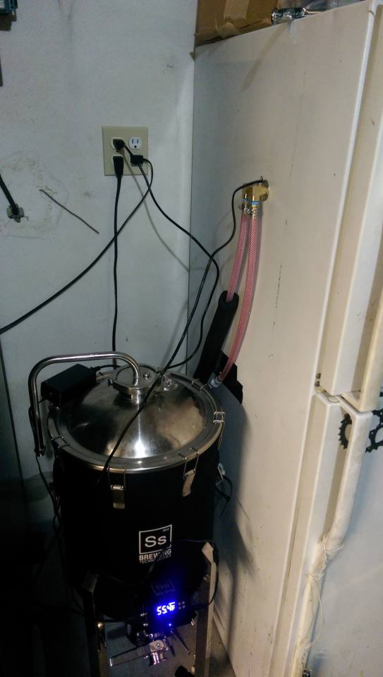 ferment chamber with glycol chiller