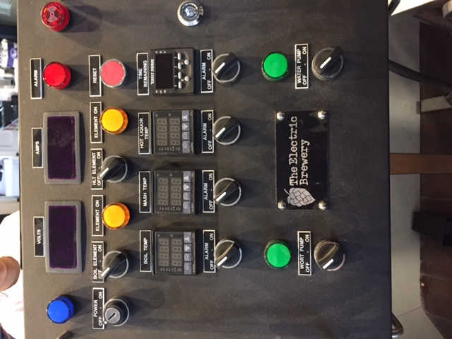 electric brewery control panel for sale  | theelectricbrewery.com