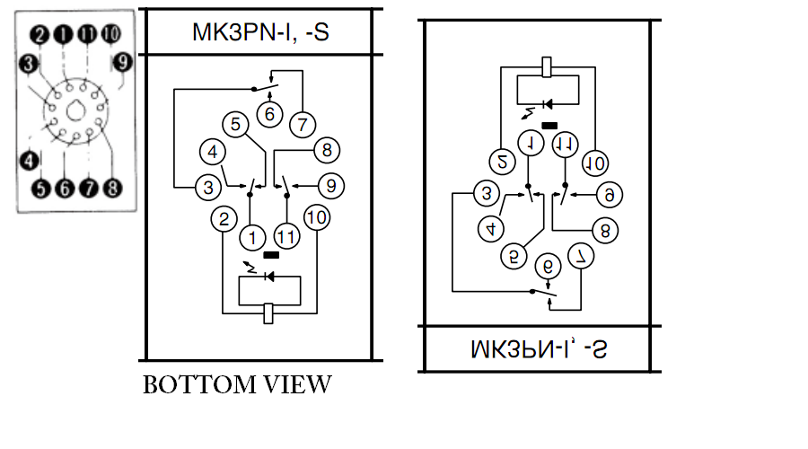 dpdt relay wiring diagram wirdig wiring diagram wire diagram images 11 pin relay wiring diagram dpdt