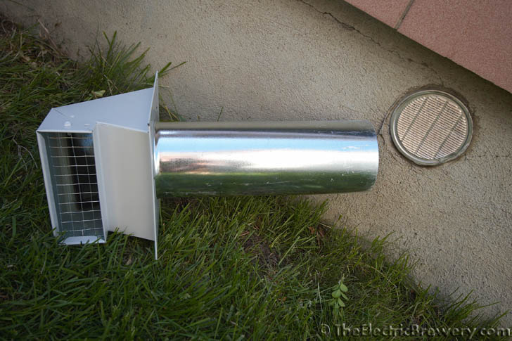 metal dryer vent cover images pictures becuo