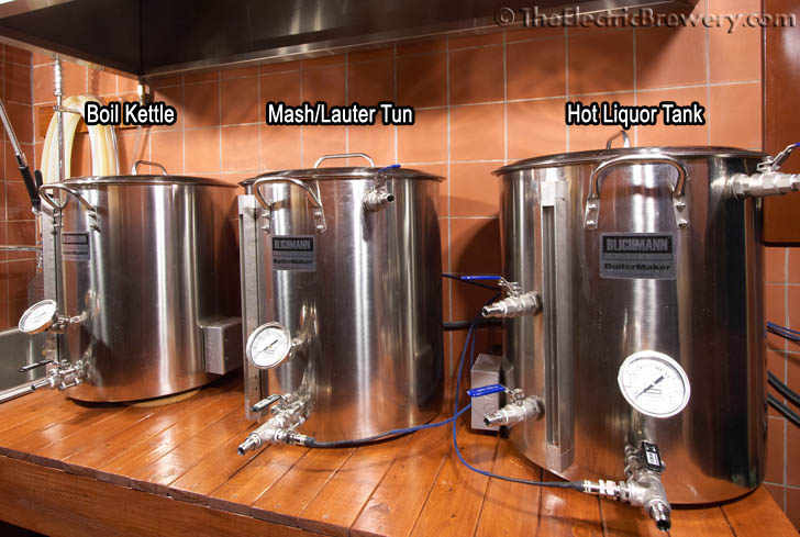 Mash lauter tun for Brewery design software