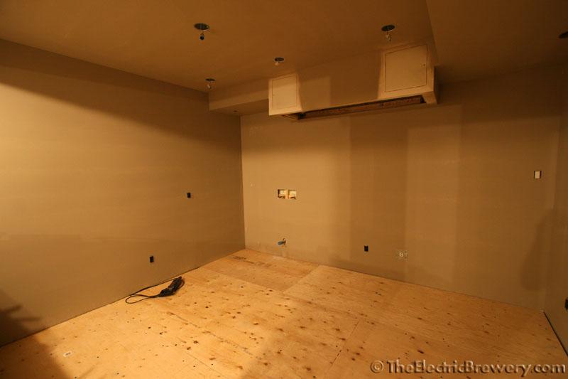 Kals Basement BreweryBarHome Theatre Build - Best flooring to put in basement