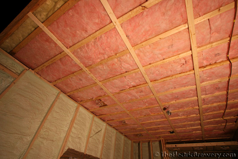 post subject the entire basement ceiling has now been insulated