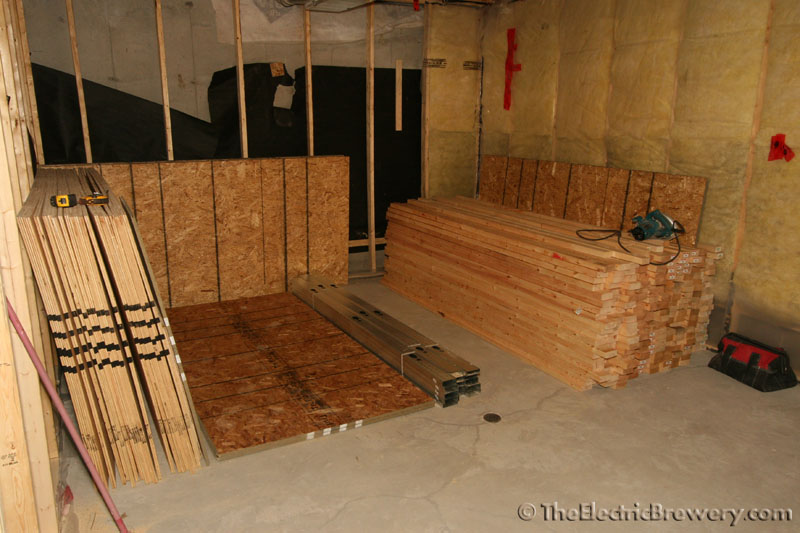Kal 39 S Basement Brewery Bar Home Theatre Build 2 0