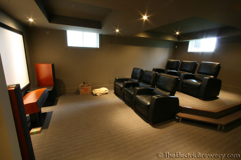 Recommendations for stores that ship gom fr701 fabric for Basement home theater plans