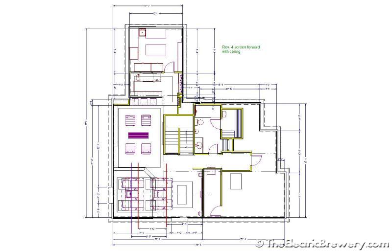 kal u0026 39 s basement home theatre  bar  brewery build 2 0