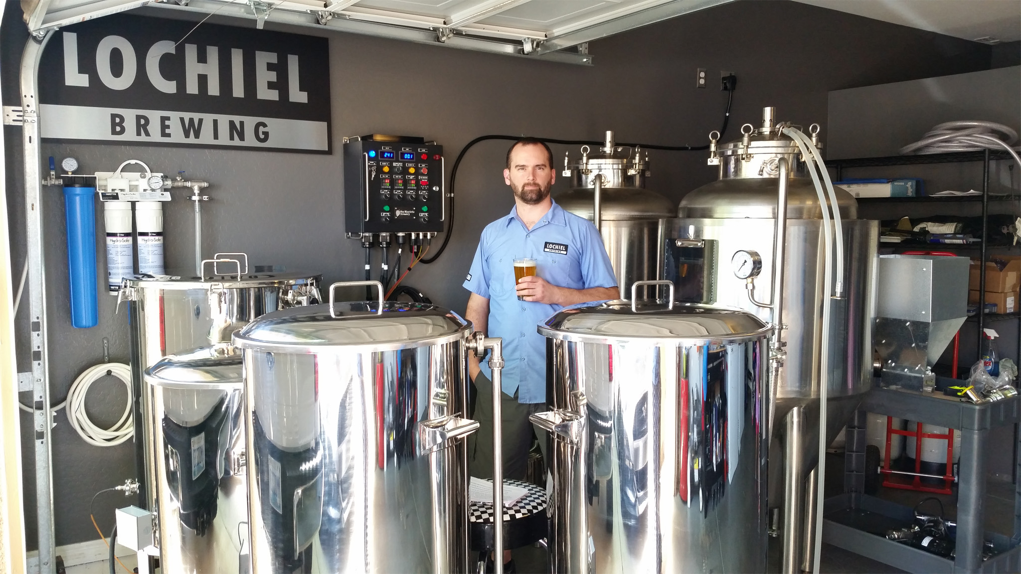 Lochiel Brewing Uses Theelectricbrewery Equipment