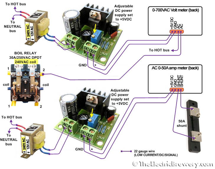 meterswiring240V faq adapting for 220 240v countries 240v relay wiring diagram at soozxer.org