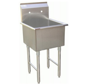 Commercial Grade Stainless Steel Sink 24x24 Quot Bowl
