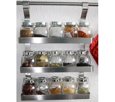 Grundtal spice rack for Ikea grundtal spice rack